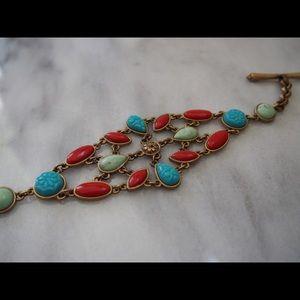 Reversible lucky brand bracelet